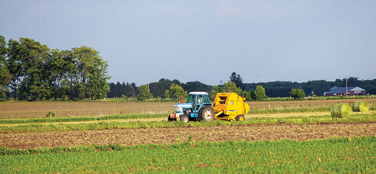 Technology is changing the round baler market | Hay and Forage Magazine