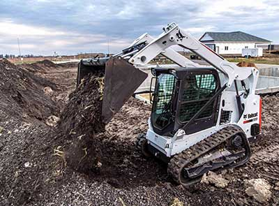 New Bobcat T595 compact track loader boasts the most
