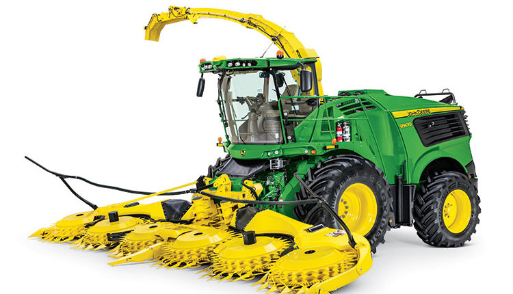 John Deere introduces new high-capacity self-propelled forage