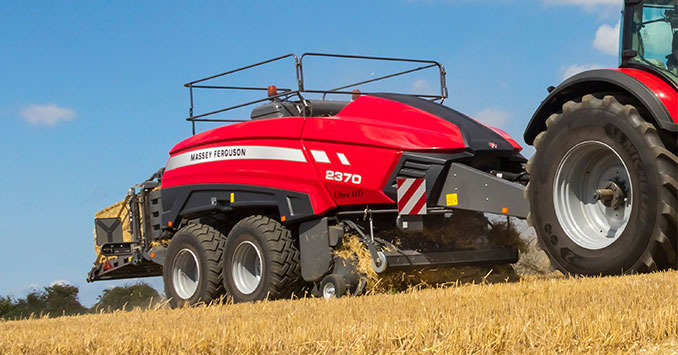 Agco Launches Industry S First Class 8 Large Square Baler