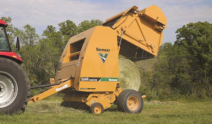 Vermeer Introduces 504R Signature Baler | Hay and Forage